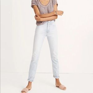 Madewell Summer Vintage Jean in Fitzgerald Wash
